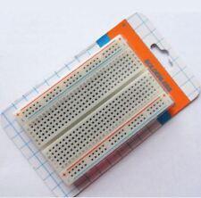 Mini Bread Board Breadboard 400 Contacts Available Diy Pcb Test Tool 8.5x5.5cm