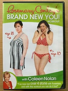 Rosemary Conley's Brand New You DVD Exercise Fitness Workout with Coleen Nolan