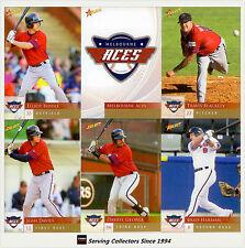 2012 Australia Baseball League Card Team Set Melbourne Aces (12)