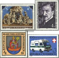 Austria 1691,1692,1693,1694 (edición completa) nuevo 1981 sellos especiales