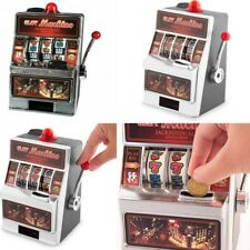 Hucha Máquina Tragaperras 19 x 13,5 cm,echa monedas y juega hasta tener premio