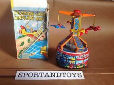 YONE JAPAN MECHANICAL VACATION LAND AIRPLANE RIDE ART.2049 SUPERVINTAGE