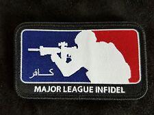 Major League Infidel Morale Woven Patch