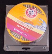 Arm & Hammer - Odor Eliminating Vacuum Filter - Dirt Devil F8-Kenmore DCF-4  NEW