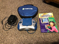 LeapFrog Leapster L-Max Learning Game System, & Case Works Tested!
