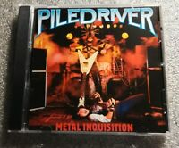 Piledriver - Metal Inquisition CD * Free Fast U.S. Shipping