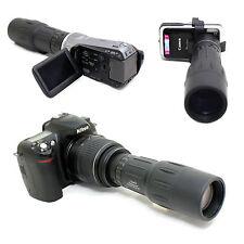 10x 42 1000mm Digiscoping Telescope for Nikon Digital D5500 AF-s DX 18-55mm Lens