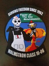 USAF  MALMSTROM MINUTEMAN III ICBM TRAINING CLASS PATCH JUNE 2016 Fine Woven