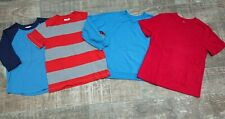 Hanna Andersson 3 T-shirts and 1 Jog/Sweat Shirt LOT Boys Size 120 6-7 Y