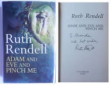 SIGNED RUTH RENDELL 'Adam and Eve and Pinch Me', NEW 1st/1st