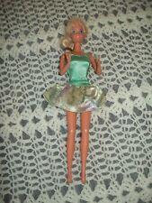 Mattel ~ Barbie ~ Blond Hair ~ Blue Eyes ~ Pink Earrings ~ 1966 Body ~ 1999 Head