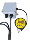 Pump Control for 220 VAC Pump, with Digital Pressure Switch, fully adjustable