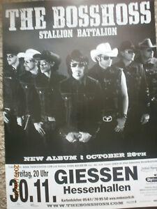 Poster Original Boss Hoss Tourplakat, Plakat Format A1  Neu .