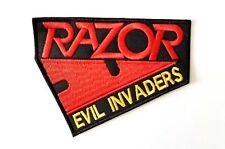RAZOR (Evil invaders ) EMBROIDERED  PATCH