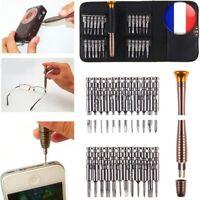 25 En 1 Torx Tournevis Mobile Téléphone Repair Tool Kit Multitool Outils Montre