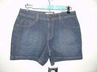 NWT $26 St Johns Bay Womens Size 10P Waist 30 Jean Shorts Stretch 23-10015