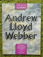Andrew Lloyd Webber for Clarinet - Arr. Robin de Smet: 33 Solo Pieces 1994 Clean