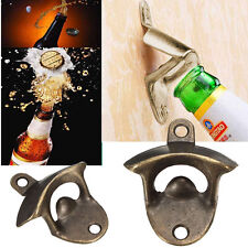 New Retro Cast Iron OPEN HERE Wall Mounted Bottle Cap Opener Bar Kitchen Beer UK