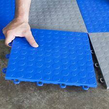 Handyman Basement Flooring Coin Blue - Made In USA - FAST DELIVERY