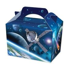 20 Deep Space Party Boxes - Food Loot Lunch Cardboard Gift Childrens Kids