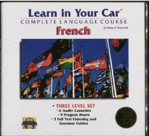 Learn in Your Car French Three-Level Set with Book(s) - ACCEPTABLE