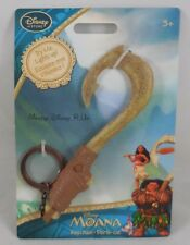 New Disney Store Moana Maui Light-Up Fishhook Keychain Key Ring Chain
