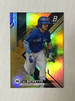 BO BICHETTE 2019 Bowman Platinum TOP GOLD SP RC 08/50 REFRACTOR! CHECK MY ITEMS!