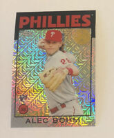 Alec Bohm 2021 Topps Silver Pack Retro Rookie Refractor #86BC-68  Phillies RC