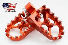 KTM MX Foot Pegs Rests Pedals For  EXC SX SXF XC XCW XCF EXCF EXCW XCFW