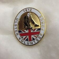 SIR EDWARD CARSON / 1912 / ULSTER VOLUNTEER FORCE PIN BADGE / ULSTER SOUVENIRS