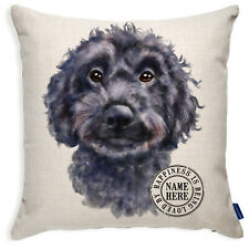 More details for personalised cockapoo cushion cover portrait dog pillow pup birthday gift kdc46