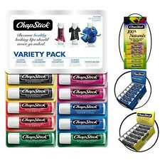 Chapstick Lip Balm Variety Pack -- 12 Sticks!!