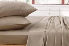 1000TC Luxury Double Sheet Set (Taupe)