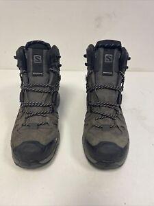 Salomon Quest 4D 3 GTX Hiking Boots Men's Size UK 8