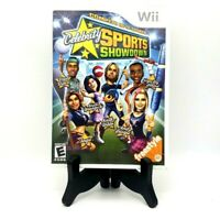 Celebrity Sports Showdown Nintendo Wii Complete Game Case Manual Near Mint