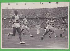 1936 Jesse Owens Berlin Olympics 100 m, press photo 23,5 x 16 cm