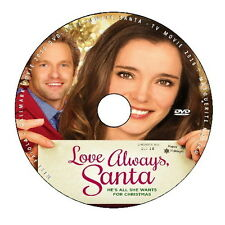 LOVE ALWAYS SANTA 2016 DVD HALLMARK CHRISTMAS MOVIE No Case/Art-DiscOnly