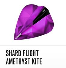 Target Shard Ultra Chrome 100 Micron Dart Flights Amethyst Purple Kite