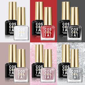 Nail Gel Polish Set Glitter UV Gel Soak Off Nail Polish Colour Nail Gel Varnish