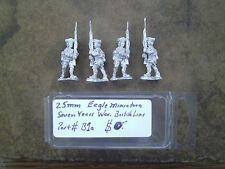 25mm Eagle Miniatures  7 Years War British Line advancing