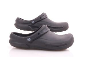 CROCS Mens sz 13 Slip Resistant Clogs Size 13 Crocs Lock™ Black Good condition