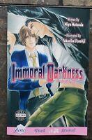 Immoral Darkness by Miyu Matsuda | English Yaoi Novel | June 2008