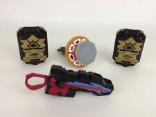 Lot of (4) Mcdonald's 2011-12 Power Rangers Super Samurai Toys Launcher Morpher