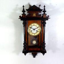Junghans Regulator Gründerzeit Wanduhr wall clock, wie Odo 36
