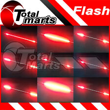 "12"" Car Truck Knight Rider LED Decoration Strobe Flash Strip Light RED"