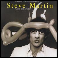 STEVE MARTIN - LET'S GET SMALL CD CLASSIC COMEDY *NEW*