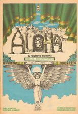 MAGAZINE ALOHA 1972 nr. 08 - JIMI HENDRIX / EAGLES / DAVID BOWIE /PETER FRAMPTON