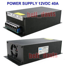 T-480-12 Super Stable Power supply unit 480W DC12V 40AMP ( 10.5 - 13.8V )