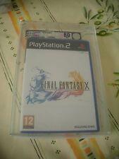 >> VGA 80 FINAL FANTASY X PLAYSTATION 2 PS2 PAL FRENCH NEW FACTORY SEALED! <<