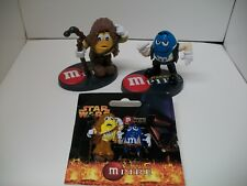 M&M's Mpire Han Solo and Chewacca with Pin